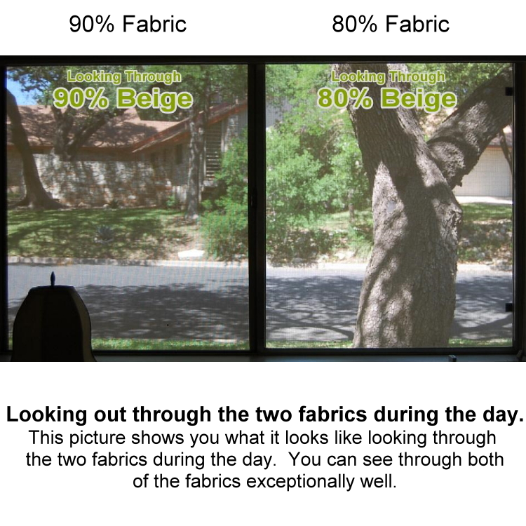 Ful Arch Shaped 90 Fabric Assembled Solar Screen 5 16 X 3 4 Frame