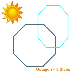 Octagon Shaped